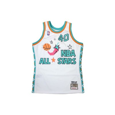 PACKER SHOES×MITCHELL&NESS ALL-STAR GAME JERSEY (1996/SHAWN KEMP EDITION: White)ミッチェル&ネス/スローバックジャージー...