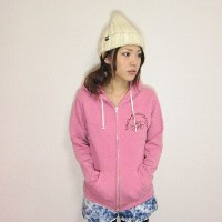 HEATHER ZIP PARKA パーカー STANDARD ヘザーピンクプレゼント 可愛い 子供