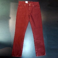 NUDIEJEANS NUDIE JEANS ヌーディージーンズ CORDUROY PANTS GRIM TIM [38161-1134] [ORGANIC RED CORD] 通販 オシャレ...