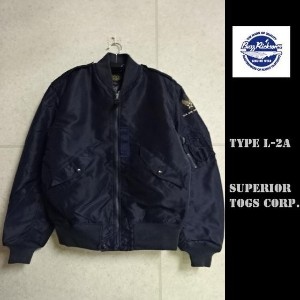 "Buzz Rickson's★TYPE L-2A""SUPERIOR TOGS CORP.""フライトジャケットBR11132バズリクソンズJACKET,FLYING,LIGHT"