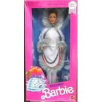 Barbie バービー フィギュア エスキモー ビンテージモデル Dolls of the World Collection-Eskimo Barbie-Special Edition-1990
