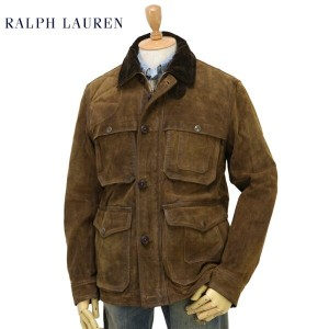 POLO by Ralph Lauren Men's Vintage Leather Hunting Jacket US ポロ ラルフローレン ハンティングジャケット
