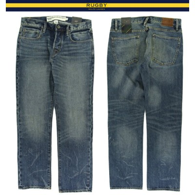 "RUGBY by Ralph Lauren ""Relaxed Straight"" Jeans ラルフローレン ラグビー デニムパンツ"