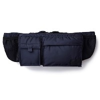 (ヘッド・ポーター) HEADPORTER MASTER NAVY HIP BAG NAVY