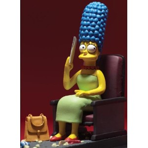Official McFarlane マクファーレン シンプソンズ フィギュア The Simpsons Movie Marge Movie Mayhem Figure