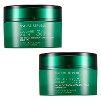 [韓国 Nature Republic] Nature Republic コラーゲンドリーム50 Tone Up クリーム SPF 35 PA++ 1+1 (Nature Republic...