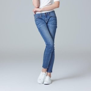 [SPAO] womens super stretch skinny jenas (L/INDIGO)