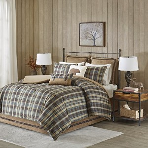 Woolrich Hadley Plaid Comforter Set, Queen, Multicolor by Woolrich