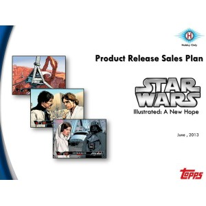 スター・ウォーズ 2013 TOPPS STAR WARS ILLUSTRATED: A NEW HOPE パック(Pack)★11/8入荷!
