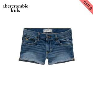 【25%OFFセール 5/25 10:00~5/30 23:59】 アバクロキッズ AbercrombieKids 正規品 子供服 ガールズ ショートパンツ a&f high rise shorts...