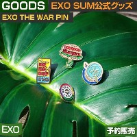 EXO [THE WAR] PIN / SUM DDP ARTIUM SM 即日発送