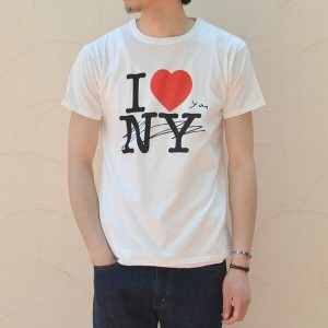 WHITE LINE(ホワイトライン)/WL × Kurry I Love You T-Shirt -white-