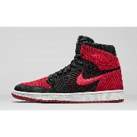 "NIKE AIR AIR JORDAN 1 RE HI Flyknit ""Banned""ナイキ エアジョーダン1"