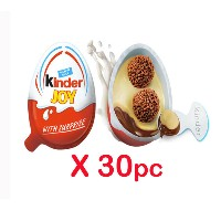 KINDER JOY 20G X 30 PIECES (15 BOYS + 15 GIRLS)