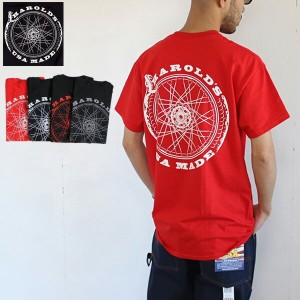 HAROLD'S IRON WORKS ハロルズアイアンワークス エンドレス サイクル 半袖 Tシャツ 4カラー Endless Cycle S/S Tee