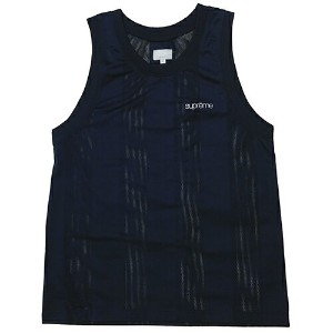 Supreme (シュプリーム) MESH STRIPE TANK TOP