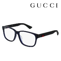 【GUCCI】 グッチ メガネ 正規販売店 アレッサンドロ・ミケーレデザイン GG0011OA 004 伊達メガネ 度付き 眼鏡 DEAL RUBBERIZED WEB FRAME Made In...