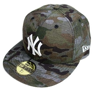 ニューエラ NEW ERA 59FIFTY NEYYAN MULTI CAMO DENIM (CAMO/SWHT 7-3/8(58.7cm)ヤンキース