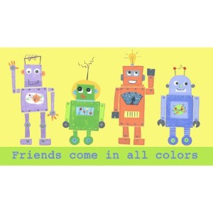 The Little Acorn Wall Art, Multi Robots by Little Acorn [並行輸入品]