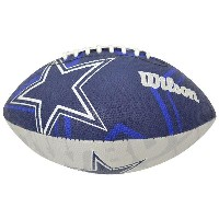 NFL カウボーイズ ボール ウィルソン/Wilson Junior Super Grip Rubber Football