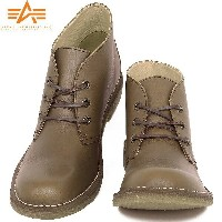 ALPHA INDUSTRIES アルファ AF1950 DESERT BOOTS デザートブーツ BROWN《WIP》【E】 ミリタリー 男性 ギフト プレゼント