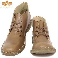 ALPHA INDUSTRIES アルファ AF1950 DESERT BOOTS デザートブーツ CAMEL《WIP》 ミリタリー 男性 ギフト プレゼント