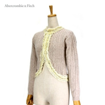 【Abercrombie&Fitch】LACE KNIT CARDIGANアバクロンビー&フィッチ カーディガン