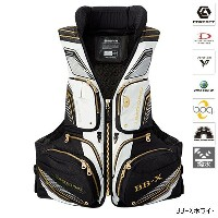 シマノ NEXUS FLOATING VEST LIMITED PRO(枕付) VF-111Q 2XL BB-Xホワイト