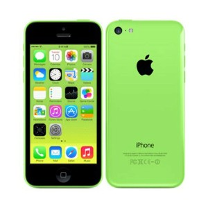 【中古】【安心保証】 au iPhone5c[32GB-a] グリーン
