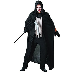 Bristol Novelty Black Reaper Adult Costume - Men's - One Size