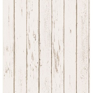Brewster 431-7296 Northwoods Lodge Weather Plank Wallpaper, 20.5-Inch by 396-Inch, Neutral [並行輸入品]