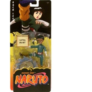 Naruto ナルト ロックリー フィギュア Mattel Action Figure Rock Lee (Lotus Kick)