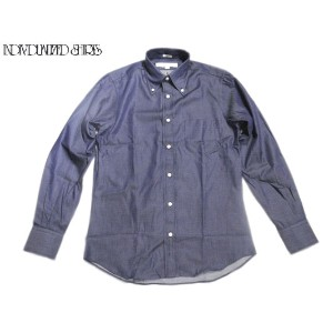 INDIVIDUALIZED SHIRTS(インディビジュアライズド シャツ)/L/S STANDARD FIT B.D. HERITAGE CLASSIC DENIM SHIRTS/blue