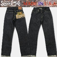 "東洋エンタープライズSugar Cane(シュガーケン)""Made in U.S.A.12.5oz DEAD STOCK CONE DENIM WAIST OVERALLS,WWII MODEL..."