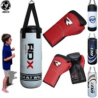 RDX キッズ Heavy Boxing 2FT Punch Bag UNFILLED MMA Punching Training グローブ KickBoxing (海外取寄せ品)