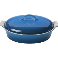 Le Creuset Stoneware 4-quart Covered Oval Casserole、Marseille