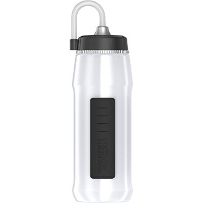 Thermos Squeezable Hydration Bottle with Longストロー、24-ounce、ホワイト
