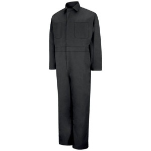 RED KAP レッドキャップ CT10BK TWILL ACTION BACK COVERALL -BLACK-
