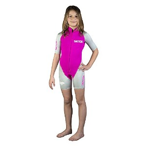 SEAC Shorty Hippo ガール 1.5mm Wetsuit wetsuits, ピンク, 5 イヤーズ (海外取寄せ品)