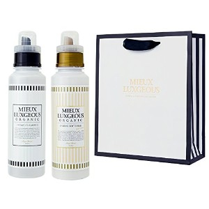 MIEUX LUXGEOUS R HOME CLEANING R & FABRIC SOFTENER GOLD LABEL セット with PAPERBAG02