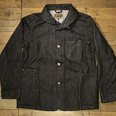 """AT-DIRTY""""WORKERS JACKET""""INDIGO【AT-DIRTY】(アットダーティー)正規取扱店(Official Dealer)Cannon Ball(キャノンボール)【あす楽対応..."""