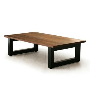 送料無料 Masterwal WILDWOOD LIVING TABLE STEEL LEGS WWLT1265SL-WN (W1200×650mm)(cc-wn)【マスターウォール...