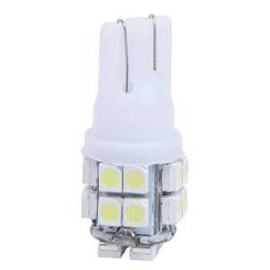 SODIAL(R) 10 x T10 168 194 W5W車高出力白色20 SMD LEDウェッジ電球ランプ12V