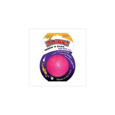 Sergeants 07064 3-1/4 Throw N Glow Dog Toy Assorted Colors by Sergeant S Pet Products P