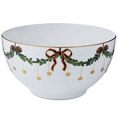 STAR FlutedクリスマスServing Bowl