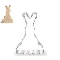 WJSYSHOP Lady Wedding Dress Skirt Series Cookie Cutter for Celebrations Christmas Birthday Party...