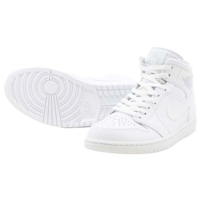 NIKE AIR JORDAN 1 MIDナイキ エアー ジョーダン 1 ミッドWHITE/PURE PLATINUM-WHITE