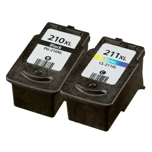 OCProducts Refilled Canon 210XL 211XL Ink Cartridge Replacement for Canon Pixma MX320 MX420 MX340 iP