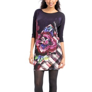 【SALE 50%OFF】デシグアル Desigual VEST_CELANDIA (SHADOW PURPLE)