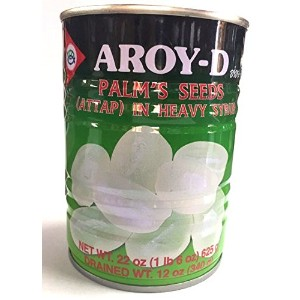 AROY-D / PALM'S SEEDS (ATTAP) IN HEAVY SYRUP / 625g / 糖水特上亞答枳